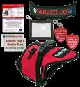 Deluxe Service Dog Vest Starter Kit