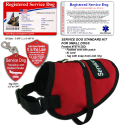 Standard Small Service Dog Vest Starter Kit