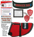 Deluxe Small Service Dog Vest Starter Kit
