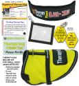 Deluxe Small Therapy Dog Vest Starter Kit