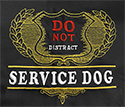 Embroidered Bandanna - Do Not Distract Service Dog