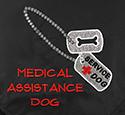 Embroidered Bandanna - Medical Assistance Dog
