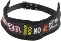 Service Dog Identification Strap Leash or Collar Cover