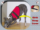 Girth Strap Cover for Tiny Dog Vest