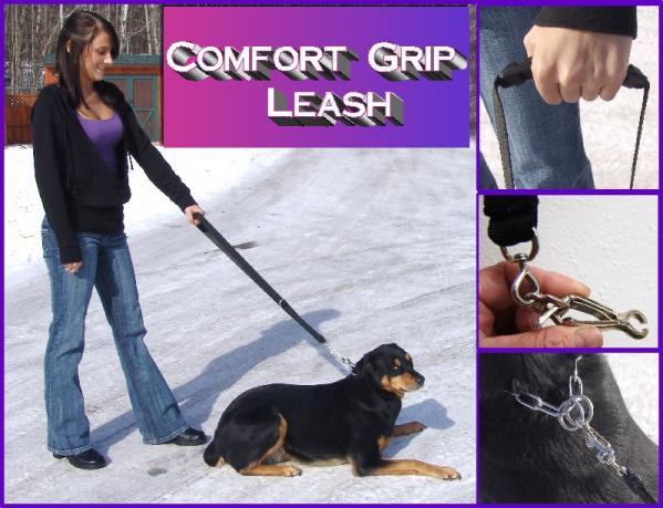 Comfort Grip Traffic Dog Leash