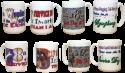 Set of 4 Service Dog Mugs Coffee Cups