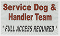 Package of 30 Service Dog Cards