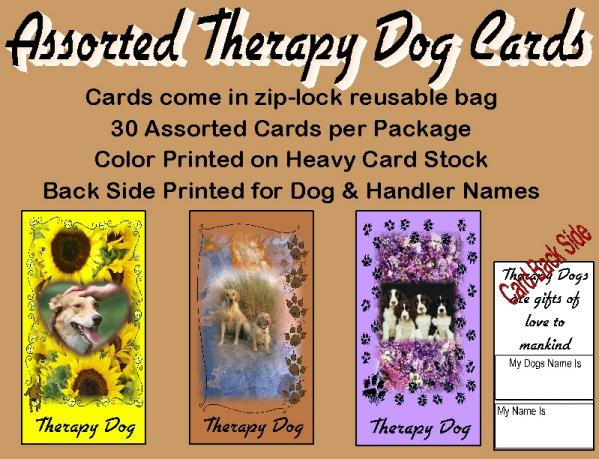 Therapy Dog Cards