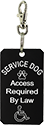Engraved Service Dog Tag