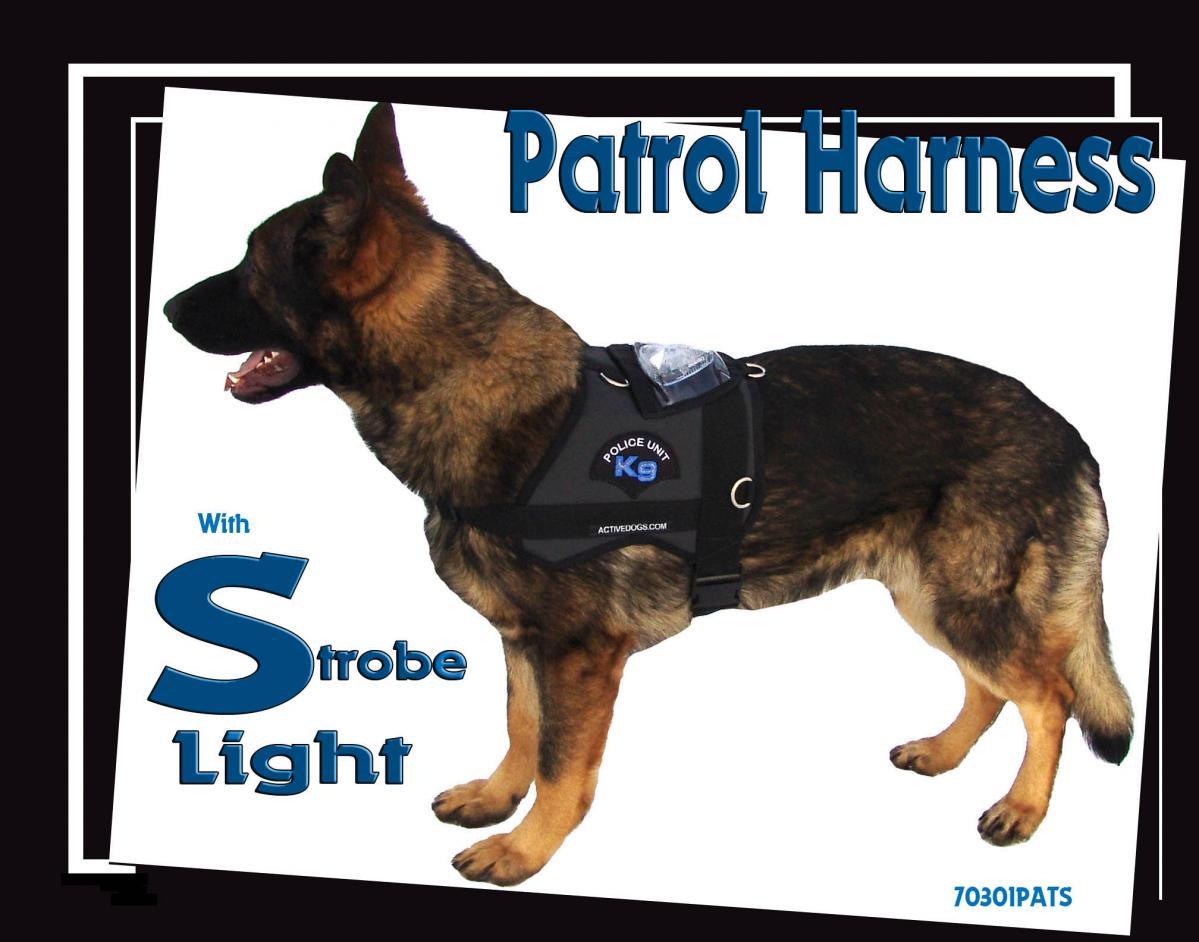 Patrol Harness with Strobe Light