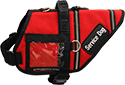 Search & Rescue Style Dog Vest