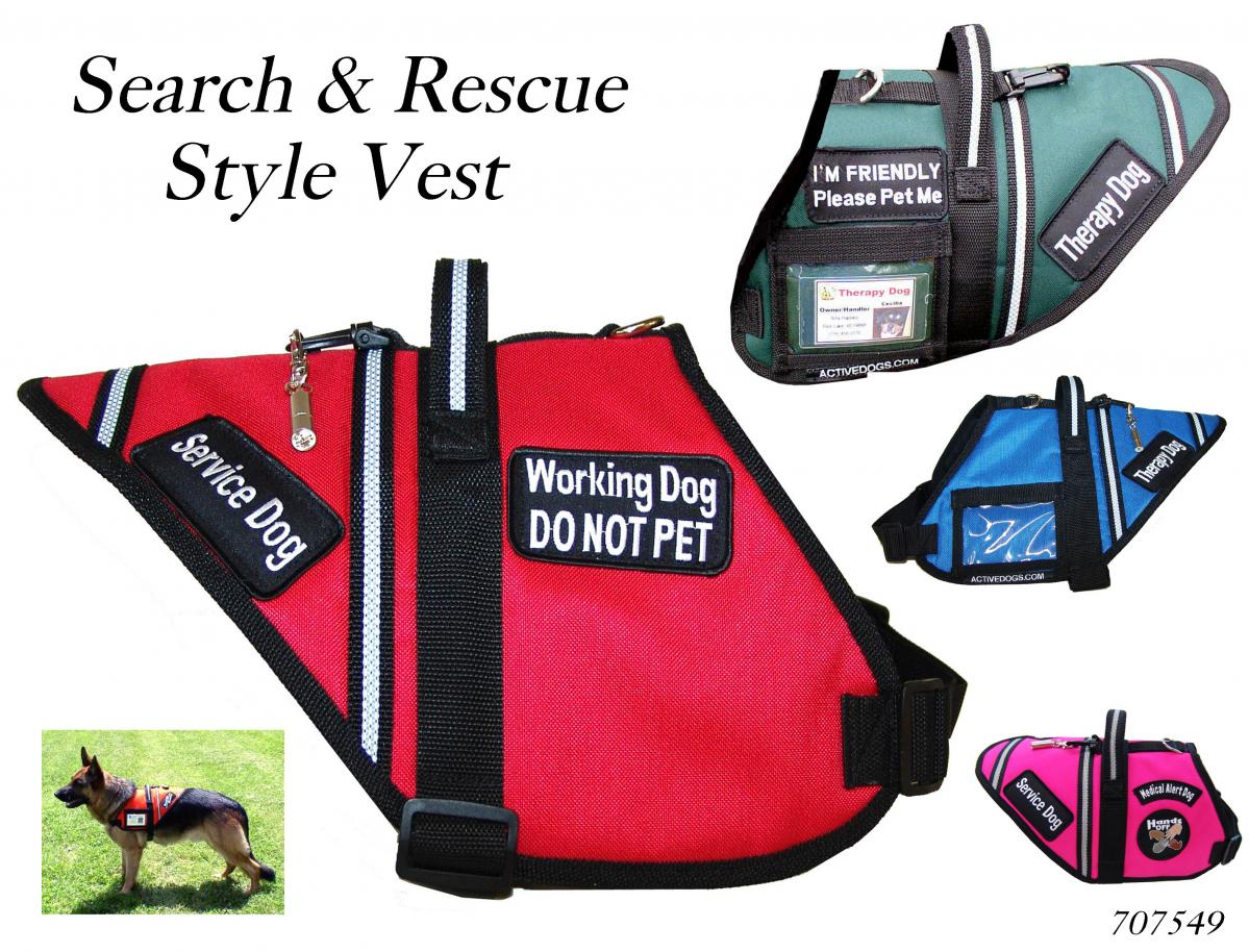 Dog Vest Patches Therapy Dog Vests And Patches