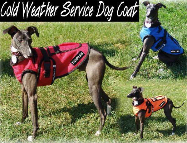 7075527AD1 small cold weather service dog coat