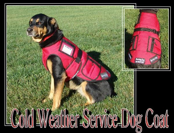 Cold Weather Service Dog Coat