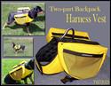 Two-part Back Pack Harness Vest