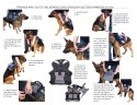 Service Dog Grocery Getter Harness