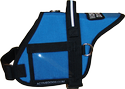 Padded Harness Vest with Clear Vinyl Window