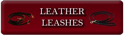Leather Dog Leashes