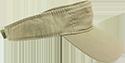 Khaki Embroidered Visor