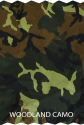 Handler Training Vest Woodland Camo Swatch