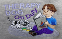 Embroidered Therapy Dog Hoodies