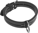 "1-1/2"" Center D-Ring Leather Collar"