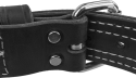 """1-1/2"""" Center D-Ring Leather Collar"""