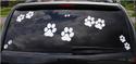 Dog Paw Decals