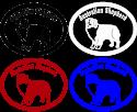 Dog Breed Specific Vinyl Decals