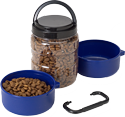 Gamma Travel-tainer portable pet food dish