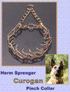 Herm Sprenger 4mm Curogan Pinch Collar