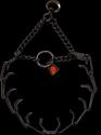 Herm Sprenger Black Stainless Steel Prong Collar