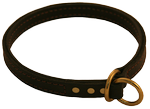 Leather Dog Choke Collar