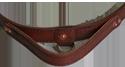 Leather Agitation Dog Collar with Handle