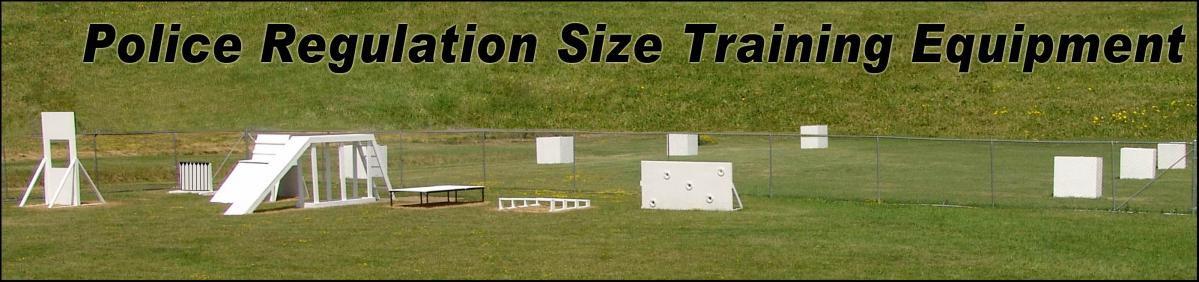 Police Regulation Size Training Equipment